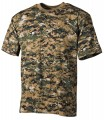 T-Shirt US Army - Digital Woodland