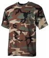 T-Shirt US Army - Woodland