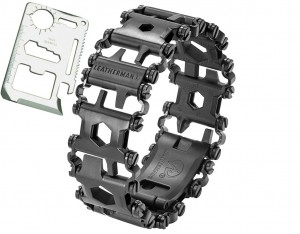 Bransoleta Leatherman Tread Black DLC