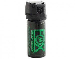 Gaz pieprzowy Fox Labs Mean Green - stożek 59 ml
