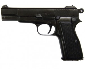 Pistolet Browning HP - replika Denix