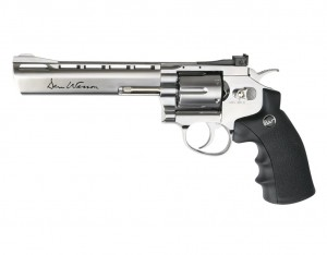 Pistolet Rewolwer ASG CO2 Dan Wesson 6'' Silver (17115)