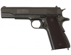 Pistolet Wiatrówka P1911 Blow Back 4,5 mm