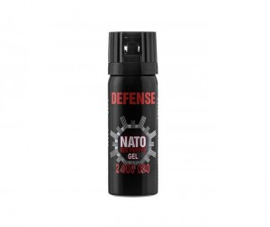 Gaz pieprzowy Sharg Defence Nato Gel 50 ml Cone