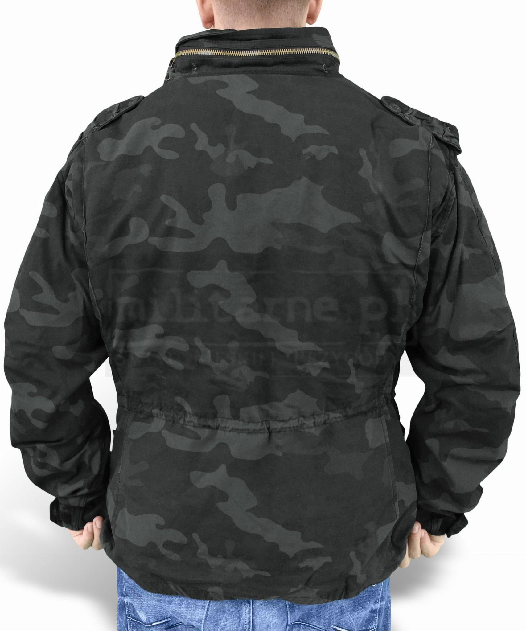 093b051725c8 Surplus Regiment · Surplus M65 Regiment 3w1 - Black Camo ...